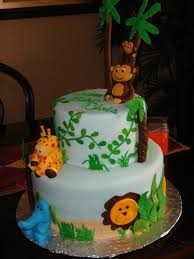 jungle theme baby shower cake living room decorating ideas baby shower cakes jungle theme