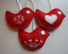 embroidered felt ornaments embroidered felt