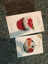 hallmark cupcake ornament 2012 ebay