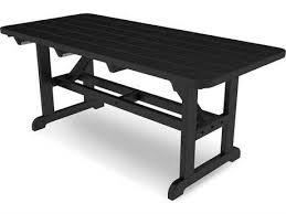 polywood kids recycled plastic 30 x 21 rectangular picnic table