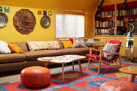 Low Profile Rug Low Profile Sofa Living Room Eclectic With Area Rug Couch