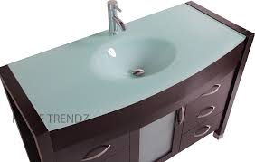 integrated sink vanity top glamorous tempered glass vanity top with integrated sink 32 in