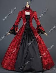 Halloween Costume Ball Gown Renaissance Gothic Dark Queen Dress Ball Gown Steampunk Vampire