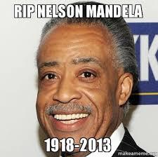 Nelson Meme - rip nelson mandela 1918 2013 make a meme