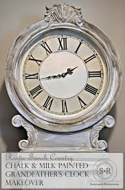 grandfather s clock serendipity refined blog rustic french country milk u0026 chalk paint