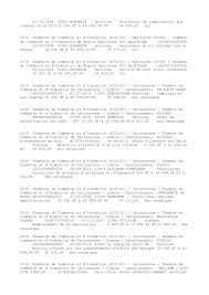 chambre de commerce carcassonne liste des marchés conclus en 2014
