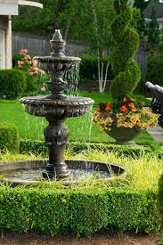 Outdoor Water Features With Lights by Best 25 Garden Fountains Ideas On Pinterest Garden Water
