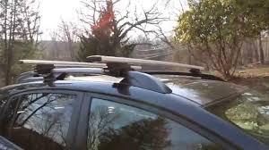 2013 Subaru Forester Roof Rack by Thule Aero Blade Roof Rack Install On 2014 Subaru Crosstrek Xv