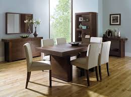Walnut Dining Room Furniture Dining Room Oslo 6 Seater Dining Table Plus Room Looking