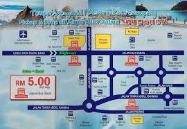 bus service between kota kinabalu and kkia airports terminal 1