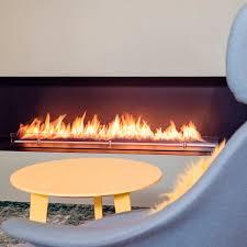 bespoke bioethanol burner flat xt with box xt planika videos