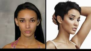hairstyle makeovers before and after 15 most dramatic america s next top model makeovers ever photos