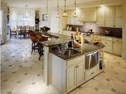 brilliant best type of flooring for kitchen hardwood floor kitchen