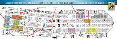 Maps San Diego San Diego Comic Con The Map Is Here And We U0027ve Annotated It U2014 The Beat