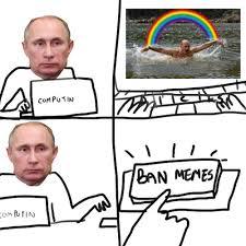 The Memes - putin banned memes and the memes fought back pics smosh