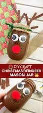 diy christmas reindeer mason jar onion rings u0026 things