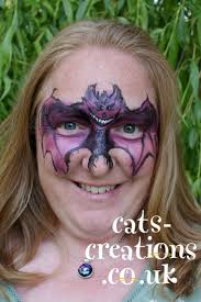 halloween face paint kids black background best 25 bat face paint ideas only on pinterest green face paint