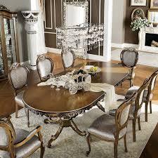 Classic Dining Room Furniture Classic Dining Table Wooden Rectangular Round Bella Vita