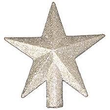 christmas tree topper 4 treasures glittered mini christmas
