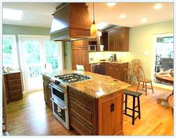 kitchen islands with stoves kitchen island with stove size of island ideas with range