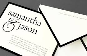 Vera Wang Wedding Invitations Vera Wang Chic Wedding Invitations And Save The Date Cards By
