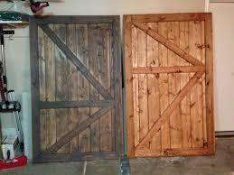 Closet Barn Doors White Barn Door Closet Doors Diy Projects