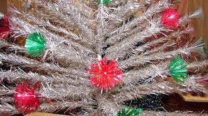 vintage aluminum christmas trees aglow at mchenry county u0027s