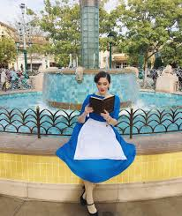 belle beauty and the beast provincial blue dress disneybound at