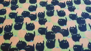 belinda u0027s big kitty orange green halloween alexander henry