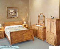 chambre en pin set de chambre en pin meuble séduction