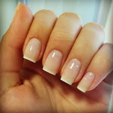 with white tip french manicure nails manicure nailart