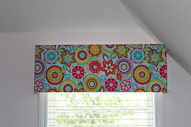 Patterns For Curtain Valances 10 And 10 Minute Diy Window Valance Home Inspiration