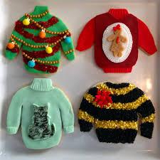 ugly sweater christmas cookies groundswell