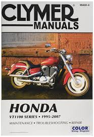 amazon com clymer repair manual for honda vt1100 vt 1100 series
