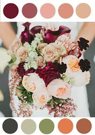 wedding colors the stunning colors of white burgundy wedding 25 stunningly gorgeous fall bouquets for autumn brides pink beige