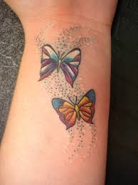 butterfly tattoos on wrist for tattooshunt com
