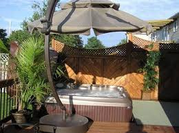 Backyard Oasis Ideas by 8 Ways To Place Your Original Outdoor Jacuzzi Jacuzzi Oasis And