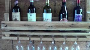 appendi bicchieri bar cantinetta porta bottiglie e calici per vino materiale riciclato