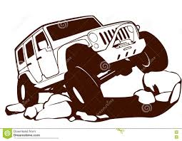 jeep vector offroad jeep stock vector image of adventure logo sports 76878654