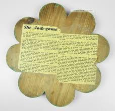 K He Holz Pochen Altes Pochbrett Aus Holz Poch Game Vintage