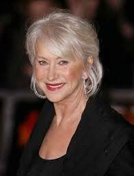 gray hair popular now stunning grey hair styles for 2013 helen mirren with softly
