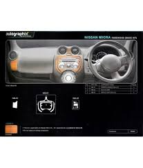 nissan micra active india autographix nissan micra dashboard interior trim buy autographix