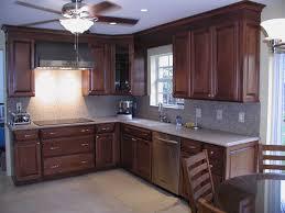 Kitchen With Brown Cabinets Brown Kitchen Cabinets Indelink Com