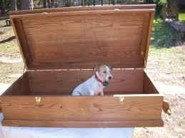dog caskets casket for large dog by herbiej lumberjocks woodworking