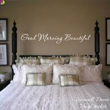 compare prices on wall quotes bedroom online shopping buy low good morning beautiful quote wall sticker bedroom baby nursery romantic family love quote wall decal kids