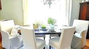 white dining chair covers dining room chair covers white ous white dining room