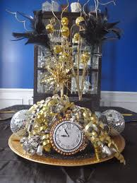 New Year Decoration Ideas For Home by New Years Centerpiece Ideas Home Design Ideas
