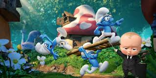Baby Smurf Meme - box office prediction boss baby vs smurfs the lost village