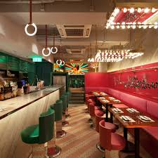 design for cafe bar new york s patent acts as cafe by day and speakeasy by night