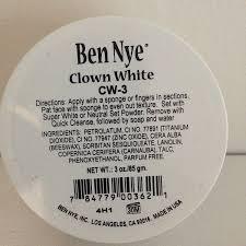 halloween horror nights coke upc code 2015 amazon com ben nye clown white makeup 3 oz costume